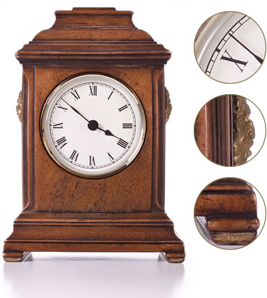 Wooden clock restoration